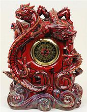 Royal Doulton Zibo Dragon Clock