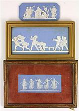 Wedgwood Group of Three 19th Century Jasper Ware Plaques