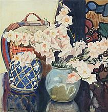Betty Solomons - Still Life, Flowers 39.5 x 40.5cm