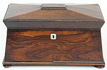 Rosewood Tea Caddy (some parts in office)