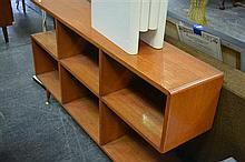 Maple Step Side Bookcase