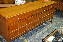 Sideboard with Drop Down Bar