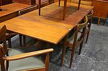 Vintage Parker 7 Piece Timber Dining Setting incl. Extension Table & 6 Chairs incl. 2 Carvers