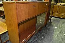 Avalon Teak Bureau Bookcase