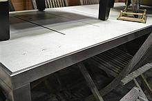 Chrome Based Dining Table