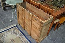 2 Timber Shipping Boxes