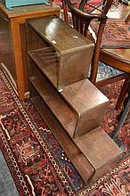 Open Stepside Bookcase