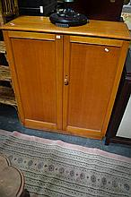 2 Door Timber Bookcase