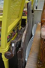 Vintage Cedar Single Bed Ends