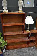 Silky Oak Art Deco Bookcase