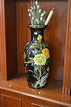 Painted Floor Vase