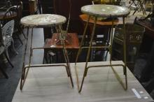 Pair of Machinists Stools