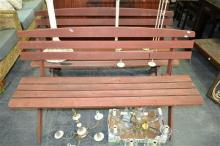 Two Timber Outdoor Benches
