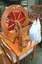 Timber Spinning Wheel