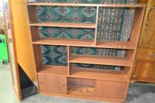 Hardwood Open Bookcase