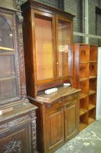 19th Century Pine Bookcase