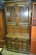 Ercol Elm 2-Piece Bookcase