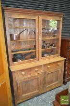 Rustic Pine Kitchen Dresser
