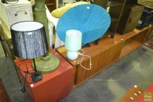 3 Varied Table Lamps