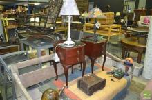 Collection of Various Table Lamps