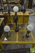 Collection of 5 Table Lamps