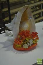 Conch and Coral Table Lamp