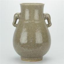 Ge Kiln Glaze Elephant Vase