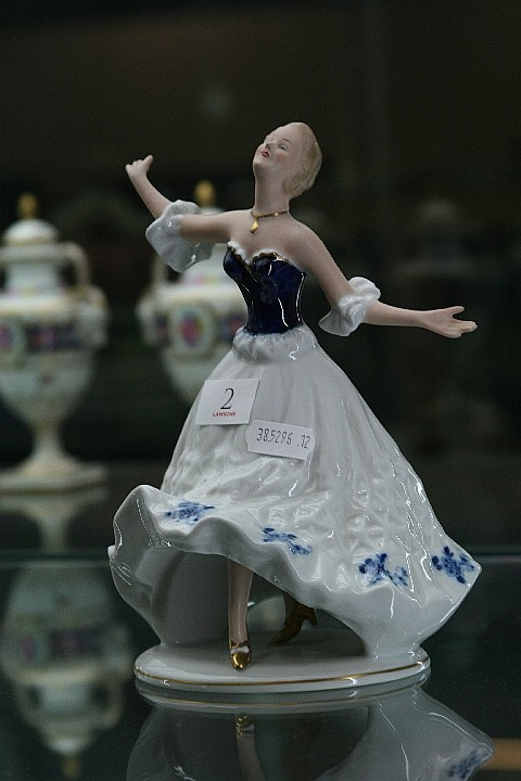German Figure of a Dancer