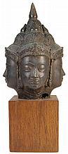 Bronze Brahma Bust