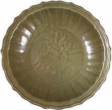 Celadon Inscribed Bowl