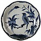 Japanese Blue & White Plate