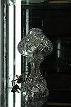 Crystal Boudoir Lamp