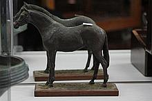 Cast Bronze Figures of a Horse