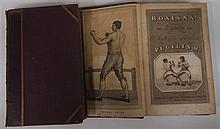Boxiana by Pierce Egan, 1812. Two volumes.