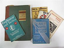 Boxing Records - Jack Read's Australian Records for 1938 & 1946; All Sports Record Book for 1932; Boxing in Art & Literature by Cox...