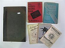 Wrestling - three early Australian brochures incl Wrestle On by Ringsider, Scenes in the Ring by McCance 1927, and Wrestling by McCa...