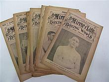 The Mirror of Life, 1913 - a good run January to November, featuring cover with Dave Smith (23 copies).