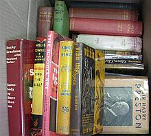 Box of Boxing - notably books by Eddie Egan, Rocky Graziano, and Harry Preston.