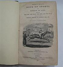 Pierce Egan's Books of Sports & Mirror of Life (Tegg 1832), the bound magazine, 414 pages.