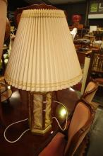 Bamboo Style Table Lamp