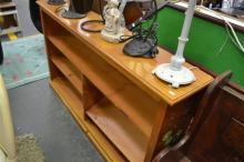 Pine Low Lying Bookcase