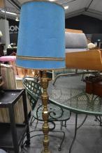 Brass Base Standard Lamp