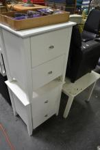 Pair Of Modern Two Drawer Bedside Cabinets