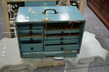 Small Travelling Dentists Cabinet
