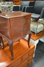Timber Bedside Cabinet