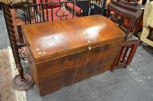 Large Timber Trunk (Small Damage to Base and Cracked Veneer)