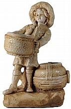 Amphora Figure of Boy with Pots