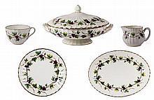 Royal Worcester 'Bacchanal' Tea & Dinner Wares
