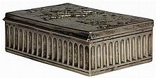 English Hallmarked Sterling Silver Victorian Box