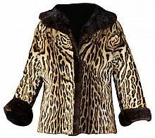 Ocelot Fur Coat by Turner